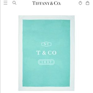 NWB‼️ Tiffany & Co. wool and cashmere blanket